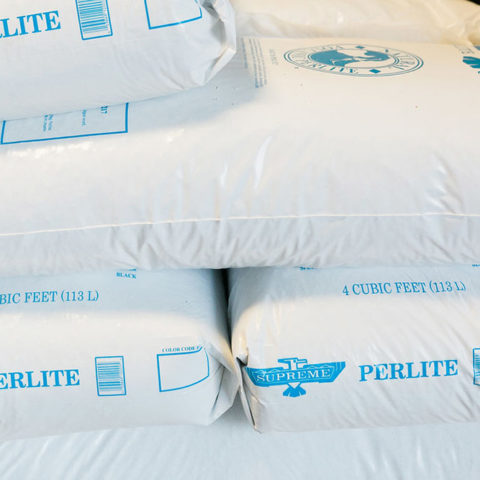 4 Cubic feet bags of perlite product